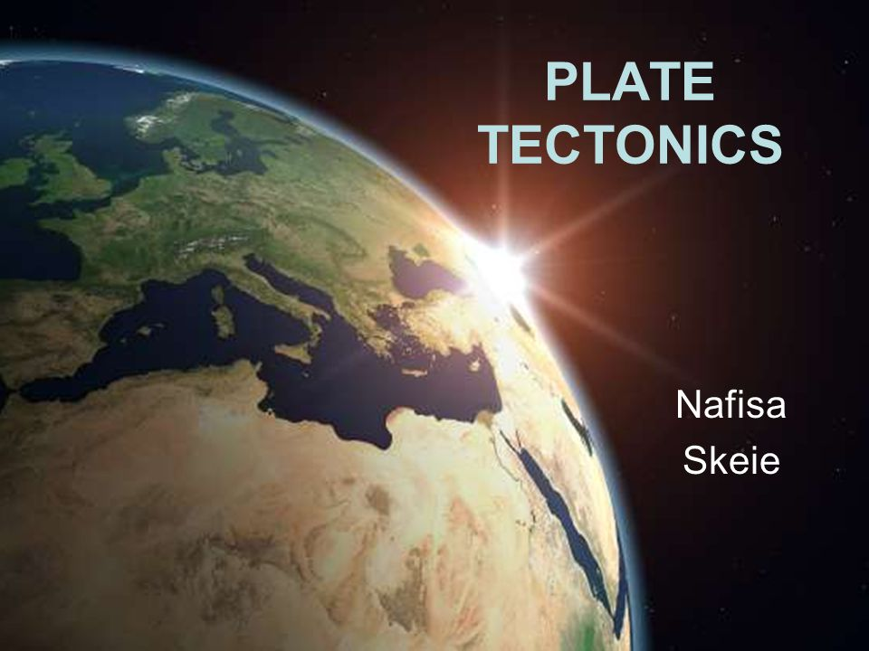 What is plate tectonics? The build up of plates…?