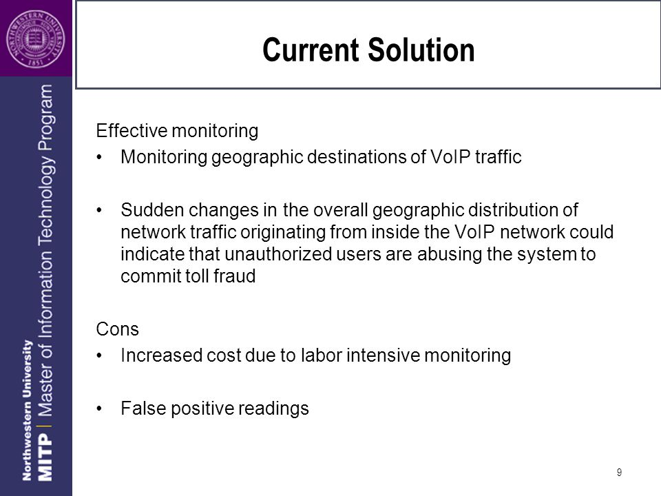 Current solution Redundancy Setup switches that will re-route the VOIP traffic when the main router/network is down.