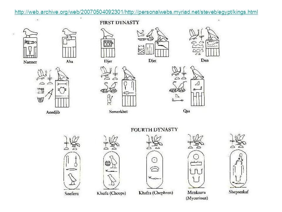 12 http://web.archive.org/web/20070504092301/http://personalwebs.myriad.net/steveb/egypt/kings.html
