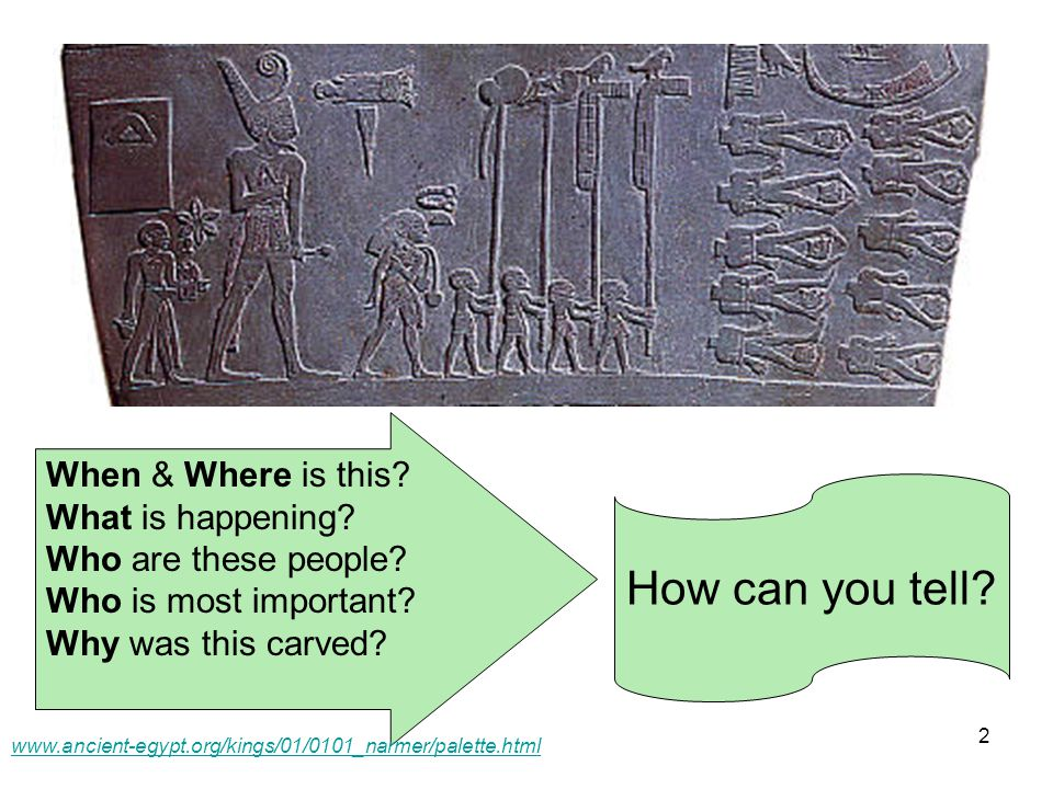 13 www.ancient-egypt.org/kings/01/0101_narmer/palette.html