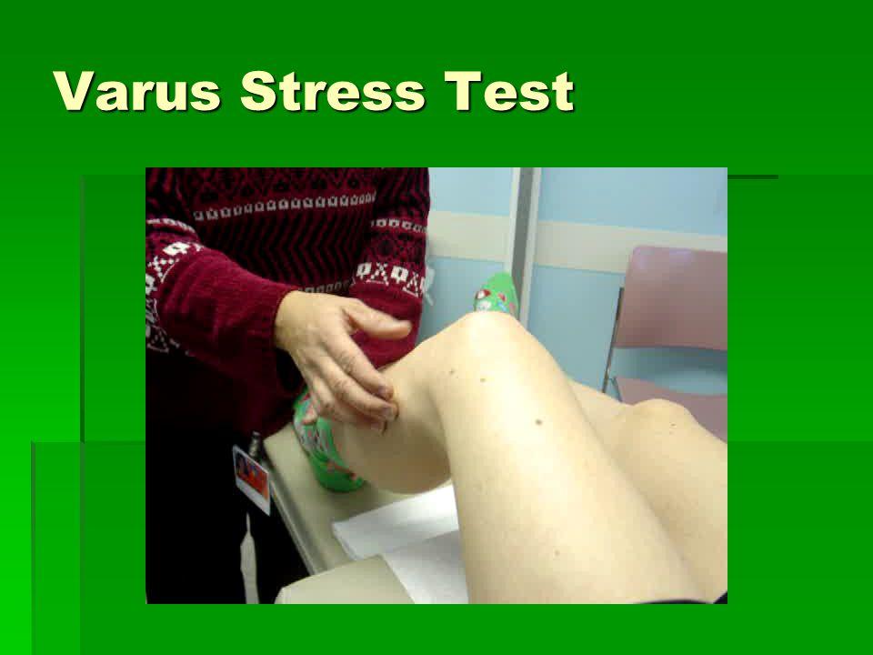 Varus Stress Test