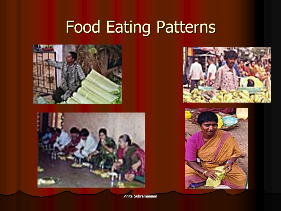 Anita Subramaniam Food Eating Patterns