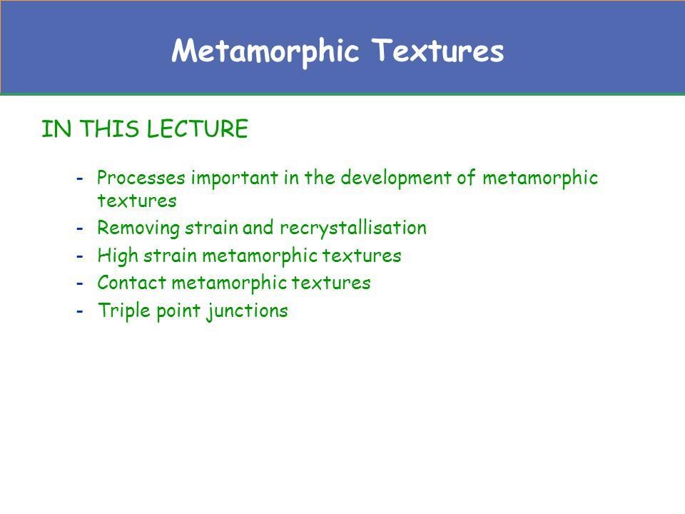 Progressive thermal metamorphism of slate.From Best (1982).