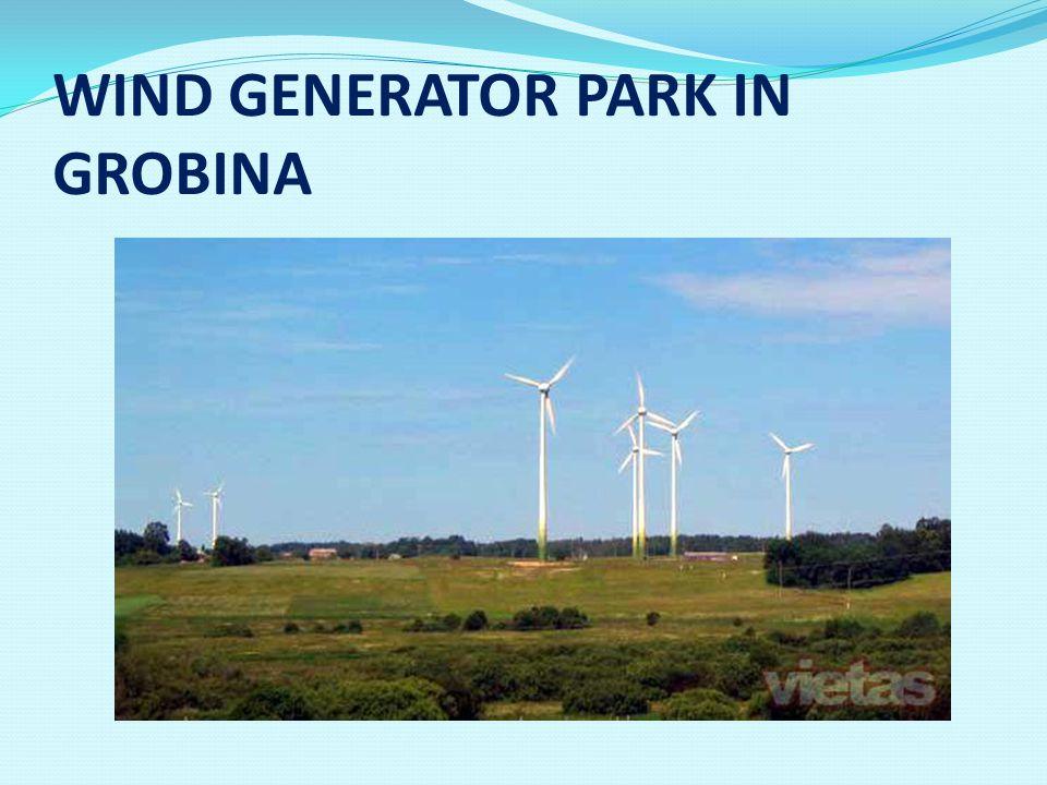 WIND GENERATOR PARK IN GROBINA