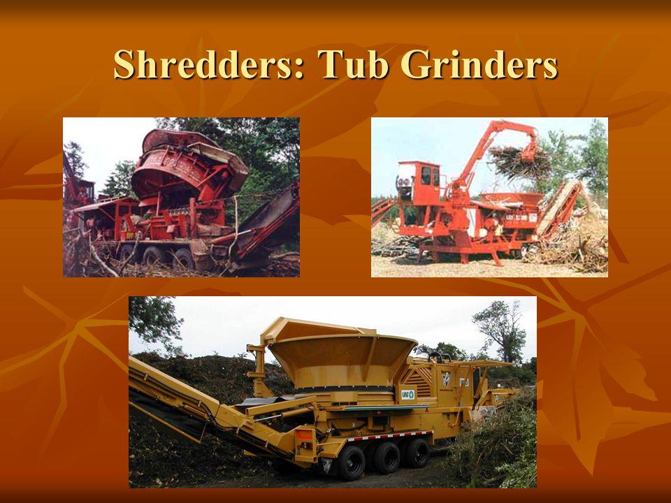 Shredders: Tub Grinders
