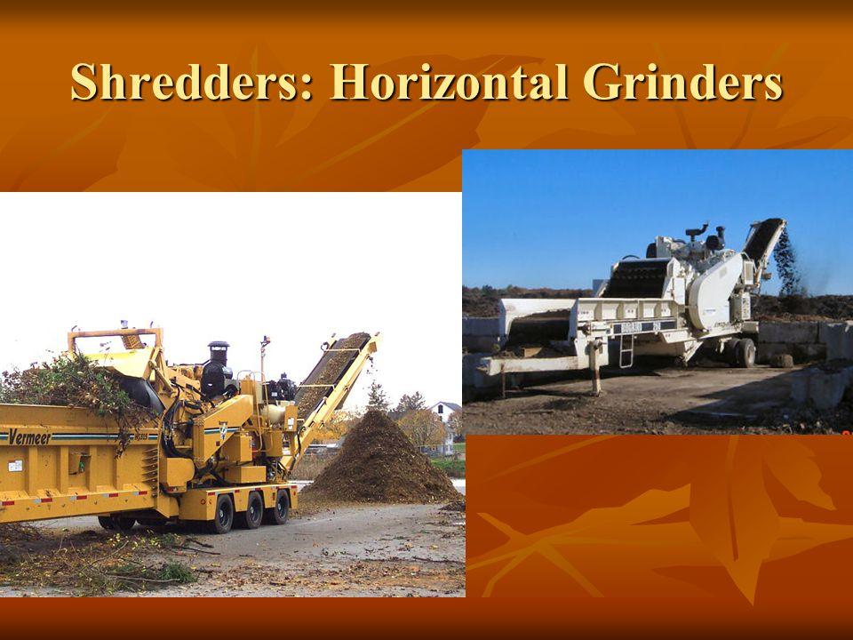 Shredders: Horizontal Grinders
