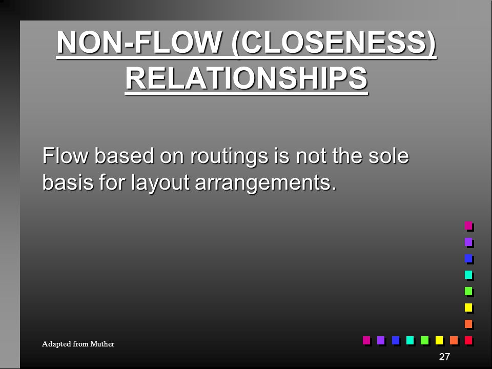 RANK THE FLOWS KEY A: E: I: O: U: Absolutely Necessary Especially Important Important Ordinary Unimportant FLOW - OF - MATERIAL INTENSITY 500 1000 150