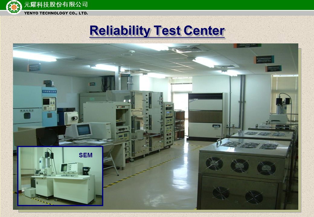 元耀科技股份有限公司 YENYO TECHNOLOGY CO., LTD. Quality Policy Foremost Quality: The best Quality management.