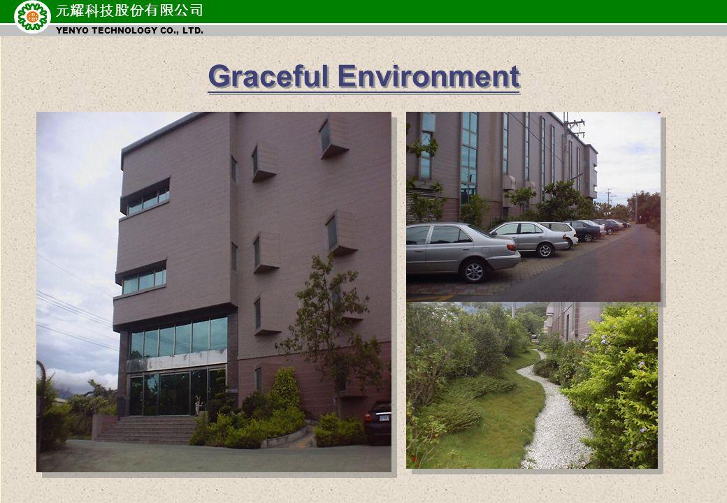 元耀科技股份有限公司 YENYO TECHNOLOGY CO., LTD. Graceful Environment