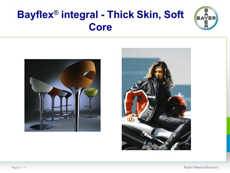 Page 11 Bayflex ® integral - Thick Skin, Soft Core