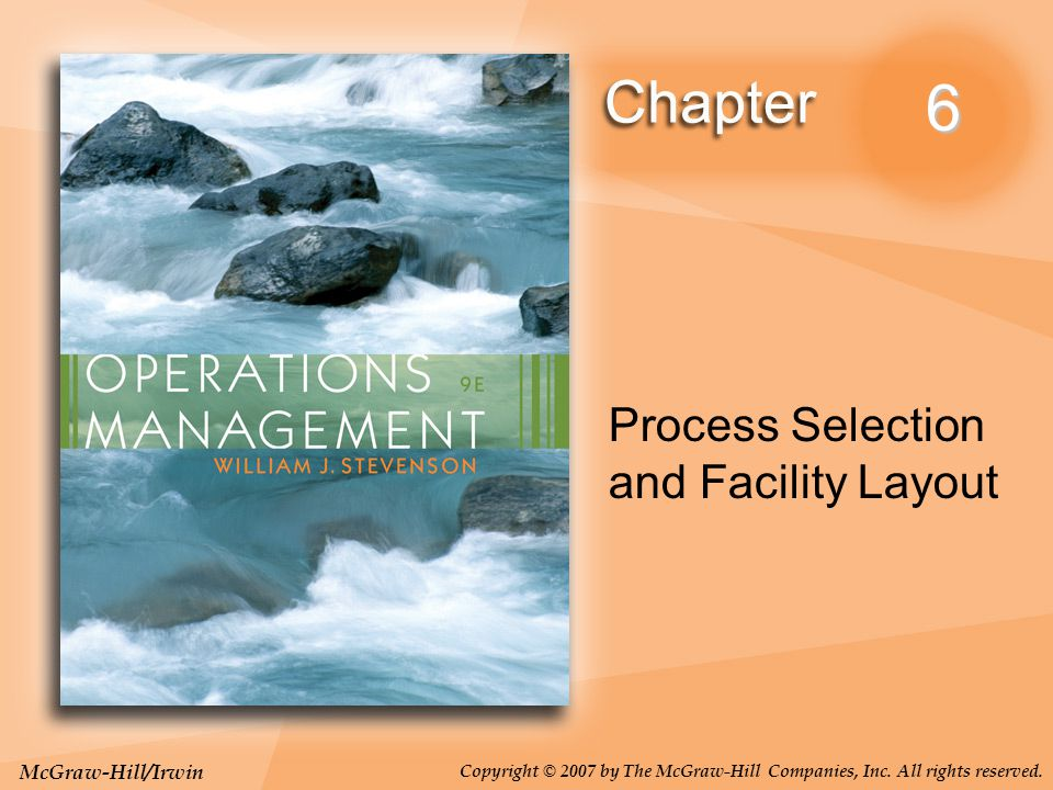 6-22 Changes in environmental or other legal requirements Changes in volume of output or mix of products Changes in methods and equipment Morale problems The Need for Layout Design (Cont'd)