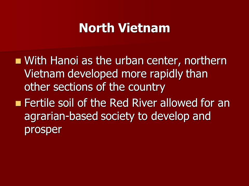 Central Vietnam Central Vietnam is very narrow.