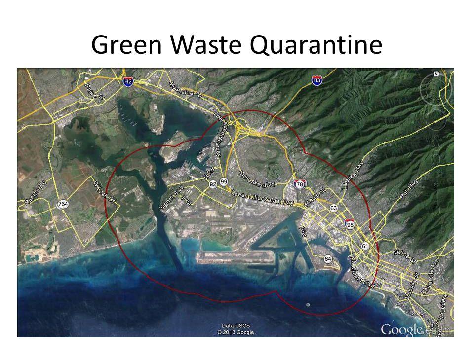 Green Waste Quarantine