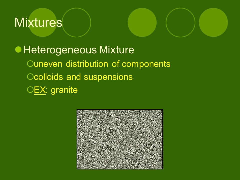 Pure Substances Compound  matter composed of 2 or more elements in a fixed ratio  properties differ from those of individual elements  NOT a mixture  EX: salt (NaCl)