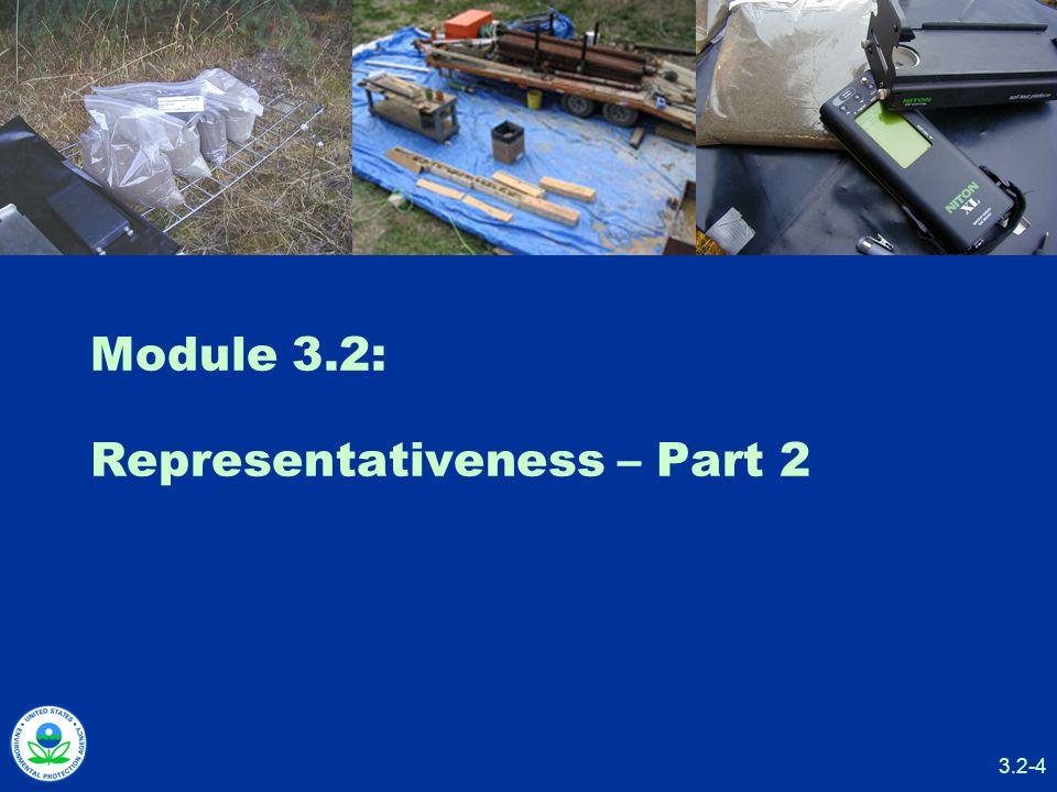 3.2-4 Module 3.2: Representativeness – Part 2