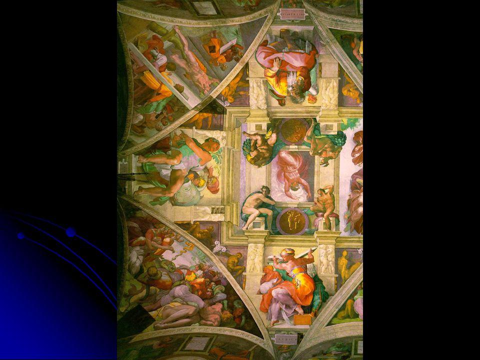 Separation of Light from Dark The Brazen Serpent The Hanging of Haman Libyan Sibyl Jonah