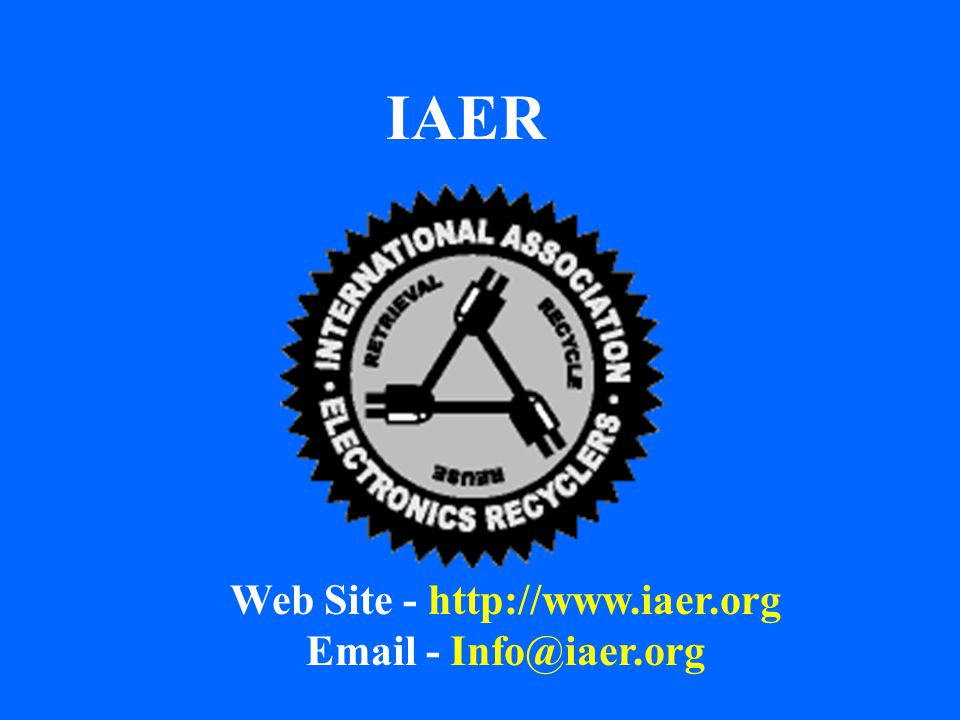 IAER Web Site - http://www.iaer.org Email - Info@iaer.org