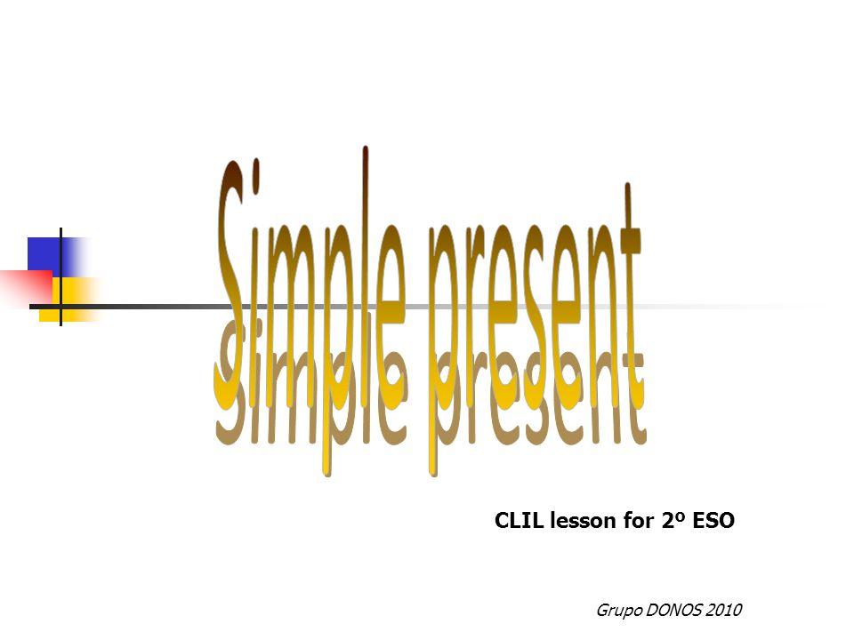 Grupo DONOS 2010 CLIL lesson for 2º ESO
