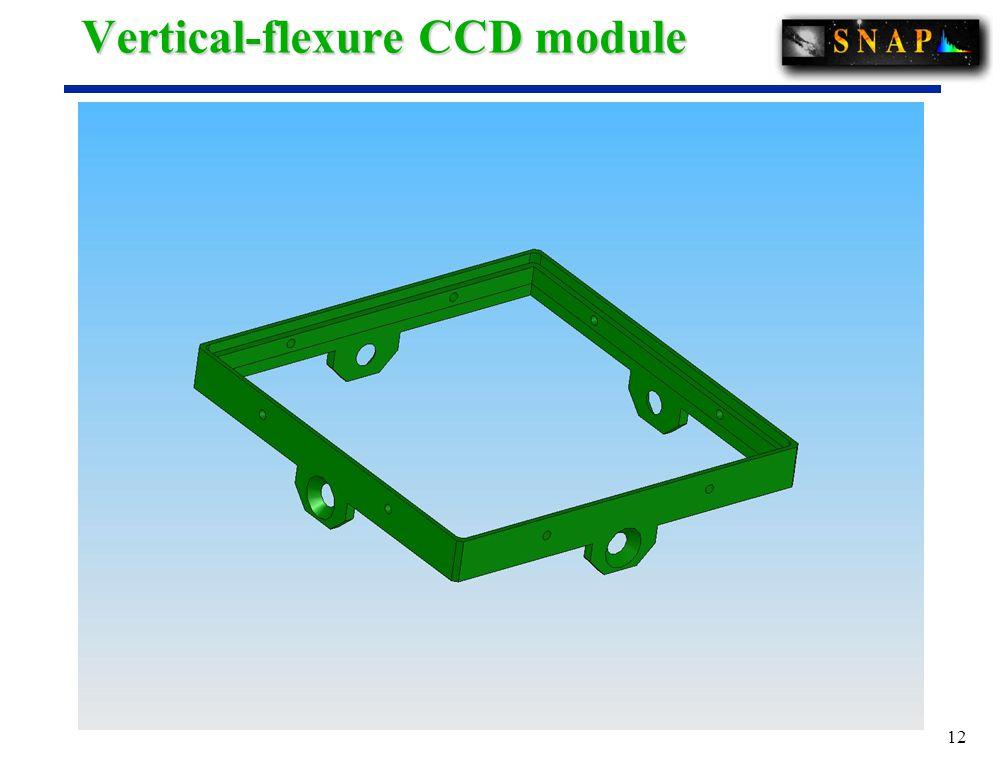 12 Vertical-flexure CCD module