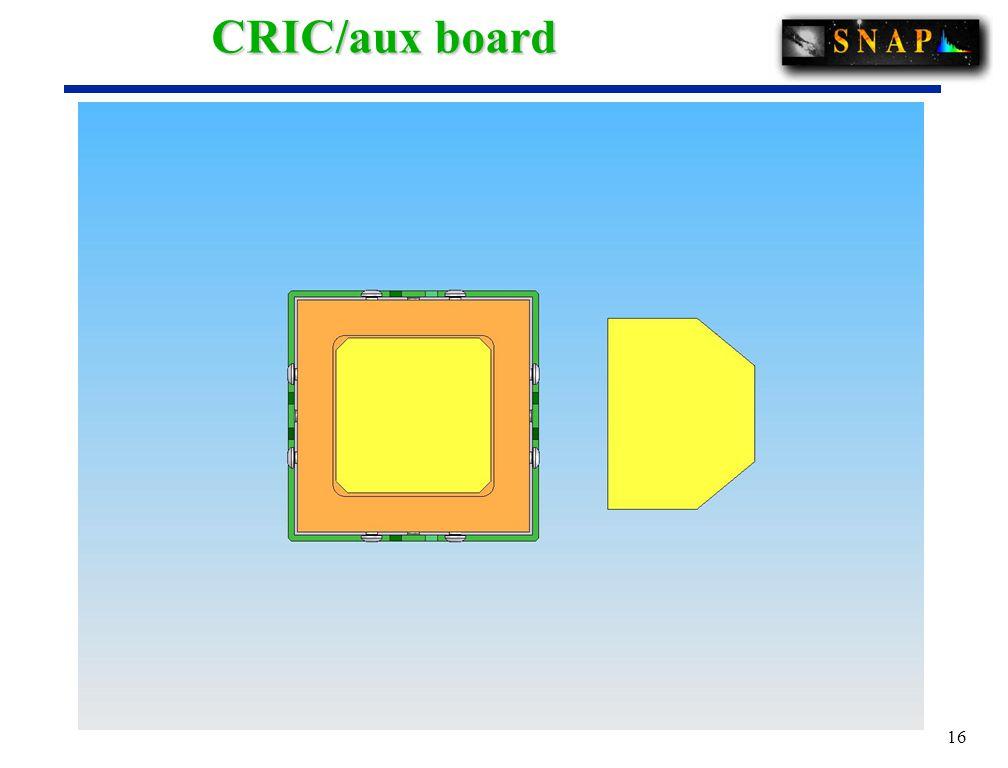 16 CRIC/aux board
