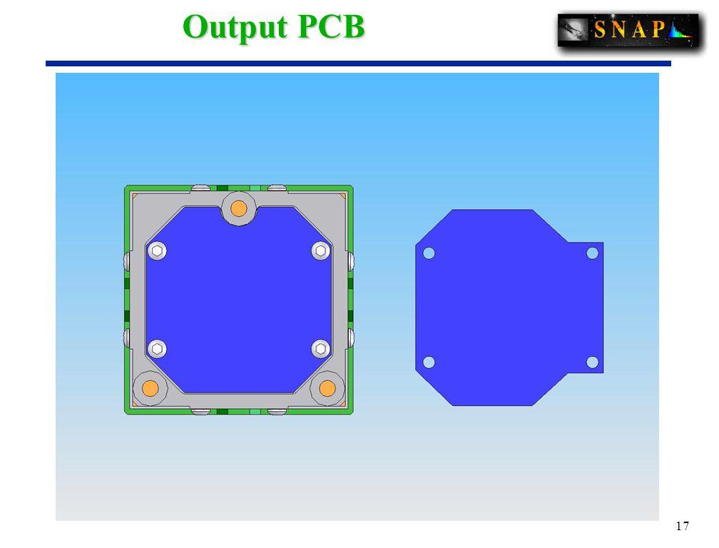 17 Output PCB
