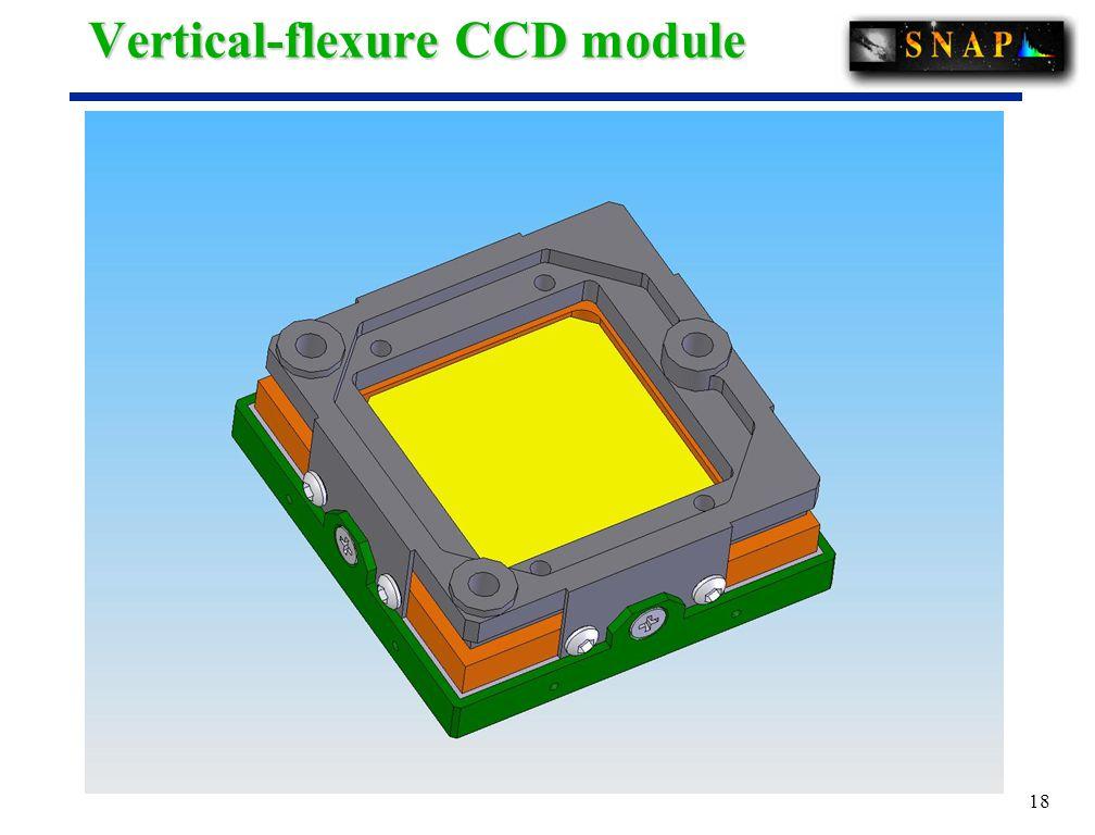 18 Vertical-flexure CCD module