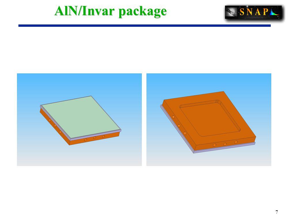 7 AlN/Invar package