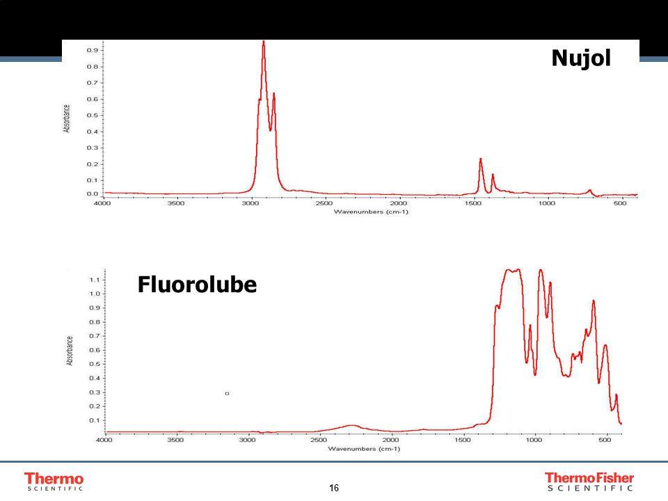 16 Mulling Oils Nujol Fluorolube