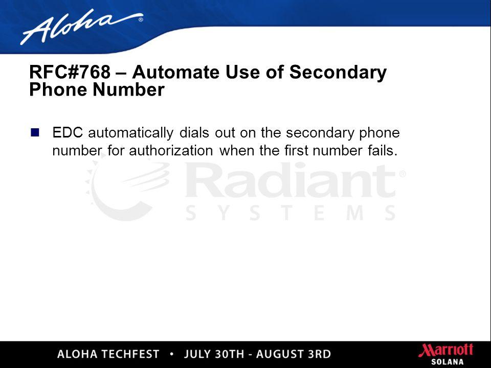 53 RFC#35095 – Amex 6 Digit Authorization Code n Aloha increases Amex Authorization Code to 6 Digits!