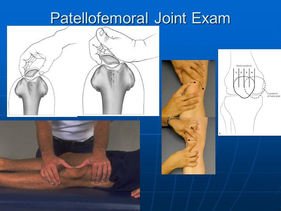Patellofemoral Joint Exam