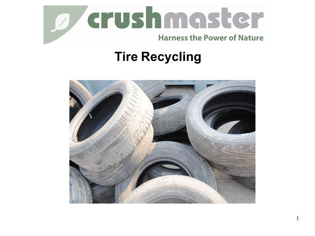 Tire Recycling 1