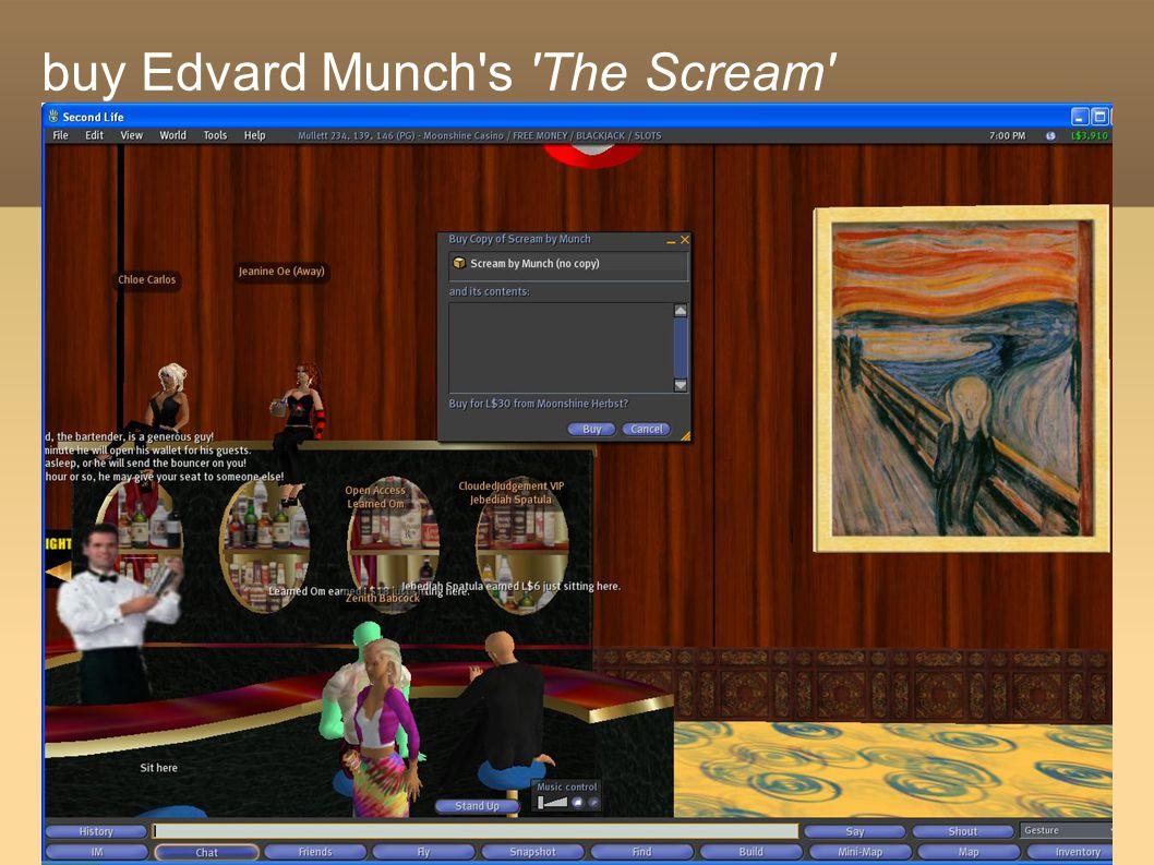 buy Edvard Munch's 'The Scream'