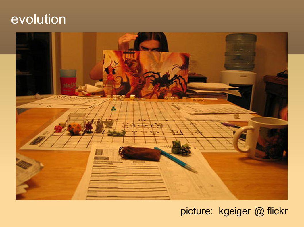 evolution picture: kgeiger @ flickr