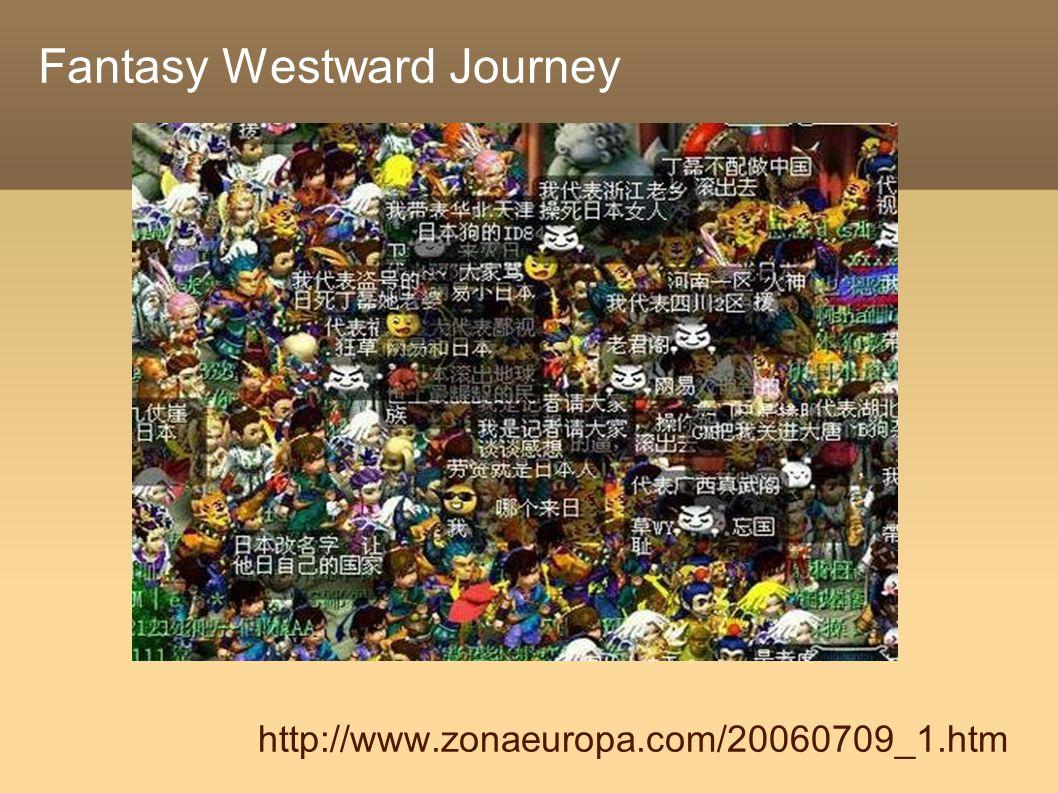 Fantasy Westward Journey http://www.zonaeuropa.com/20060709_1.htm