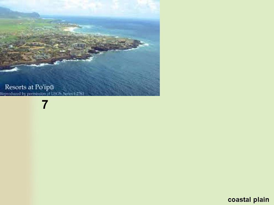 7 coastal plain
