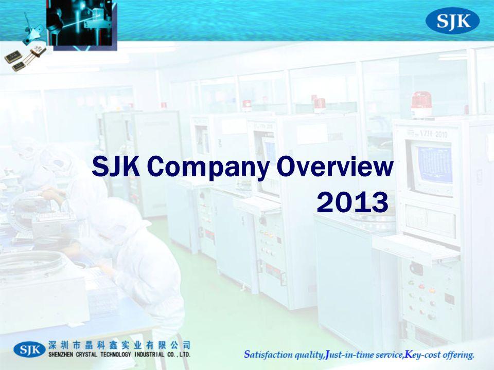 SJK Company Overview 2013