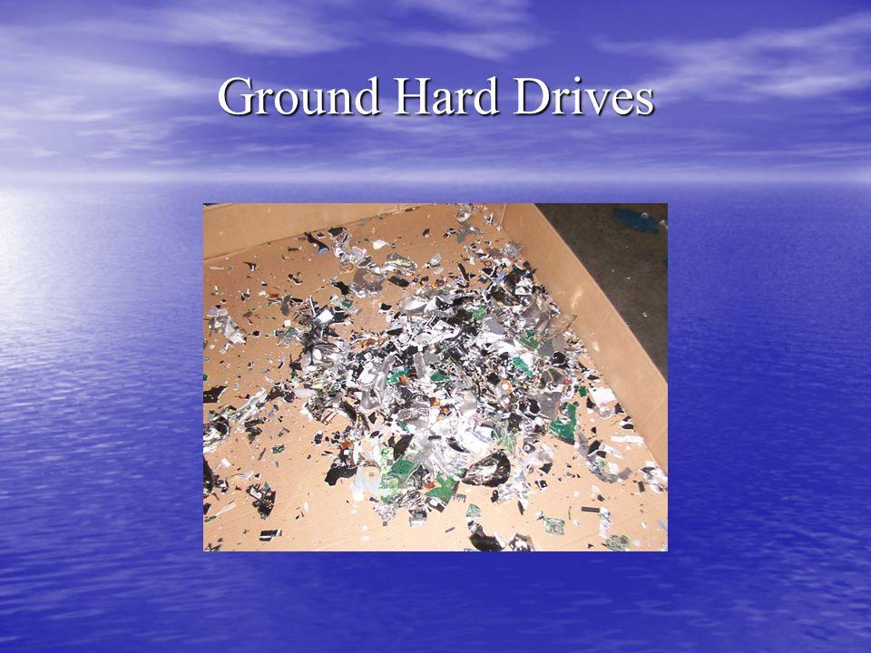 Ground Hard Drives