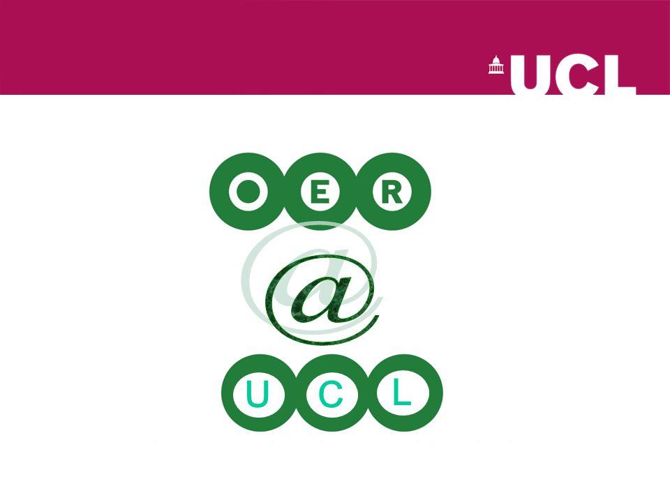 http://www.ucl.ac.uk/oer/ C U L