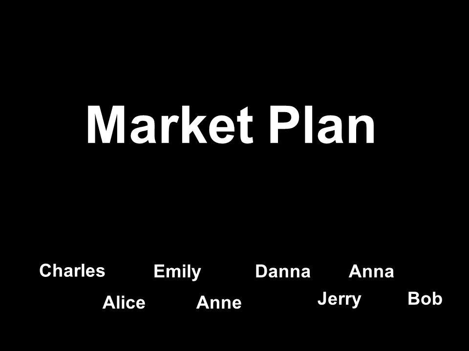Market Plan Charles EmilyDannaAnna AliceAnne Jerry Bob