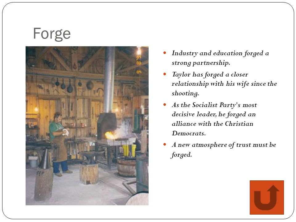 Forge Industry and education forged a strong partnership.