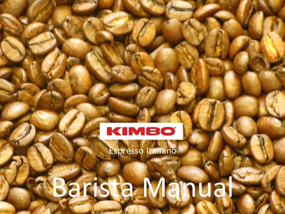 Espresso Italiano Barista Manual