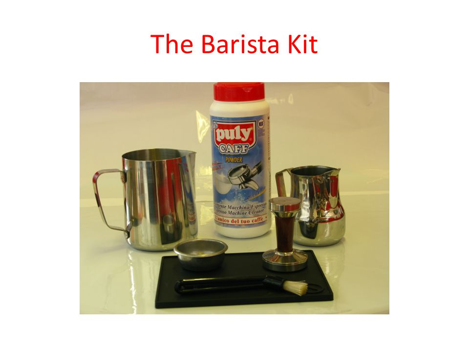 The Barista Kit