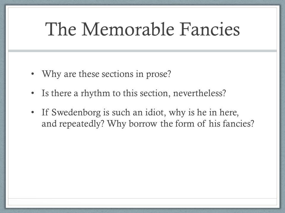 The Memorable Fancies