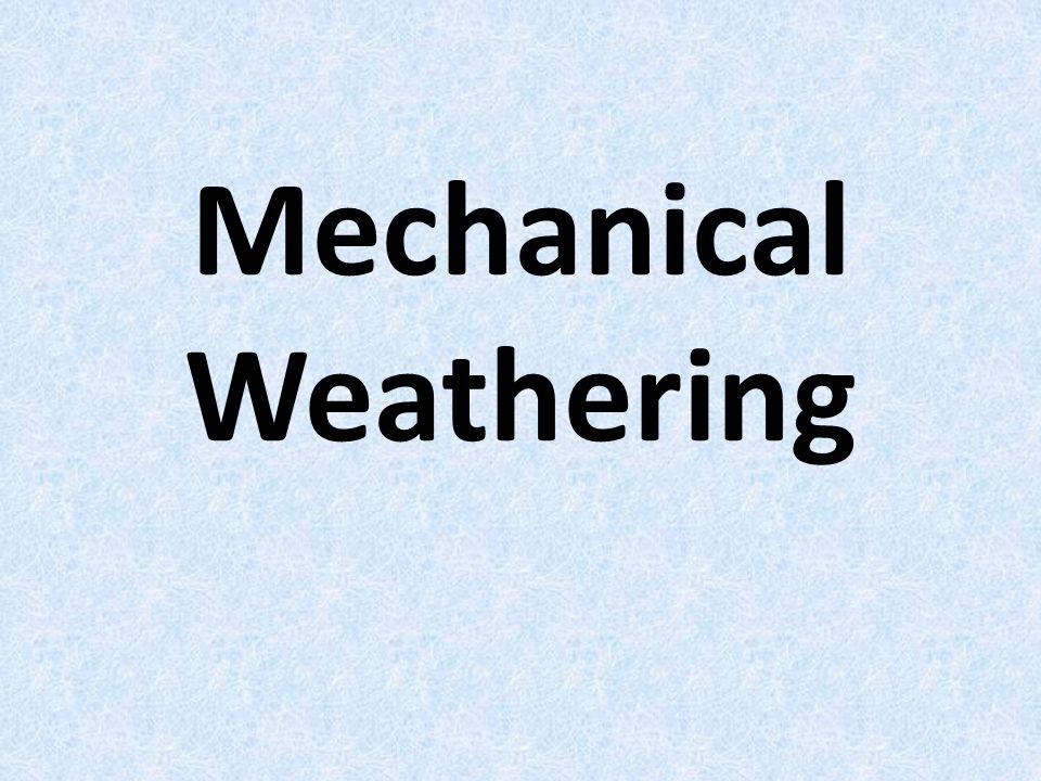 Chemical weathering acid precipitation