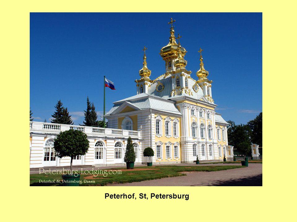 Peterhof, St, Petersburg