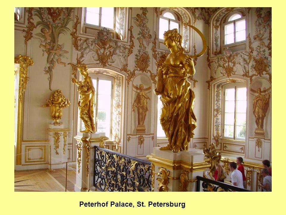 Peterhof Palace, St. Petersburg