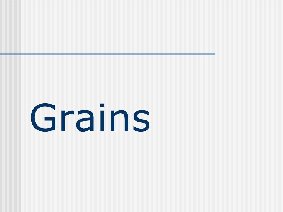 Summary Two major barriers to grain/starch digestion 1) Seed coat/hull, especially important for Monogastric animals because of the fiber Hard, small