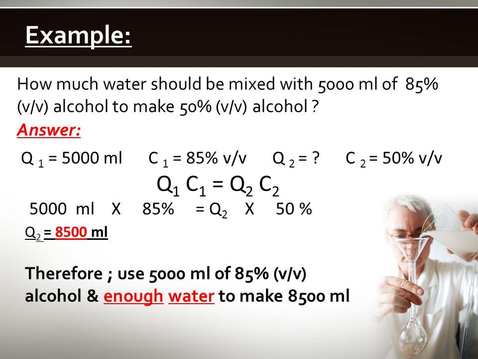 EMULSIONS (P:88)  Two immiscible liquids, e.g.