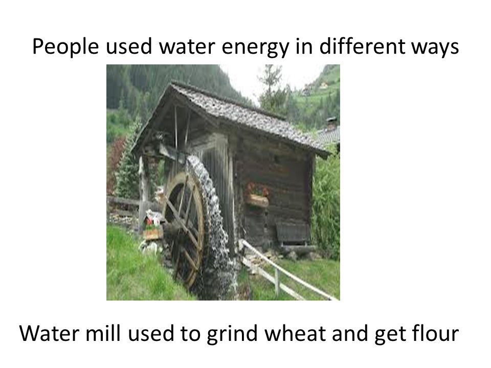 Another type of mill