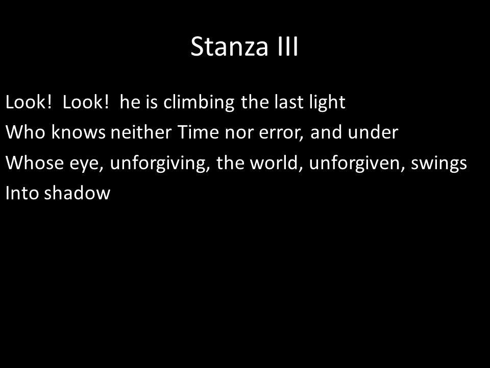 Stanza III Look.Look.
